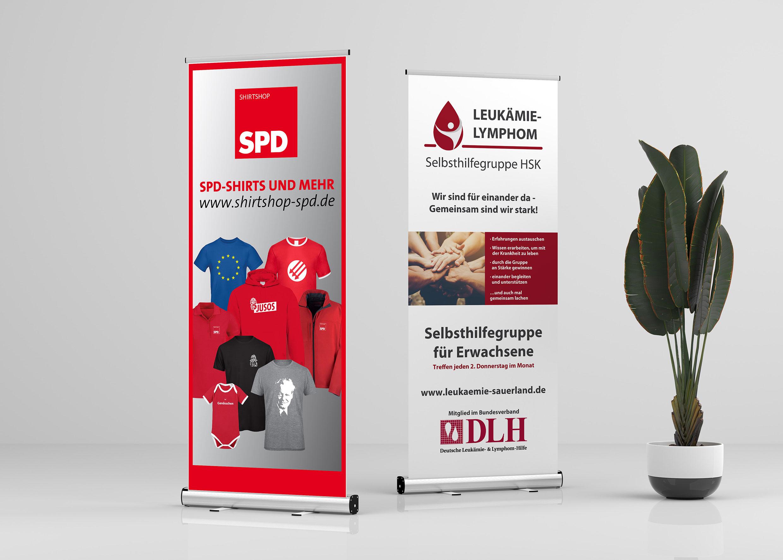Roll-Ups von SPD und Leukämie-Lymphom