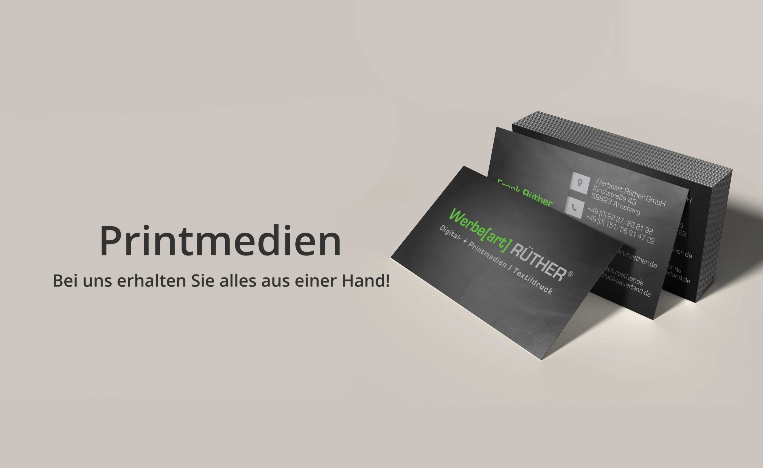 Printmedien - Bei uns erhalten Sie alles aus einer Hand!