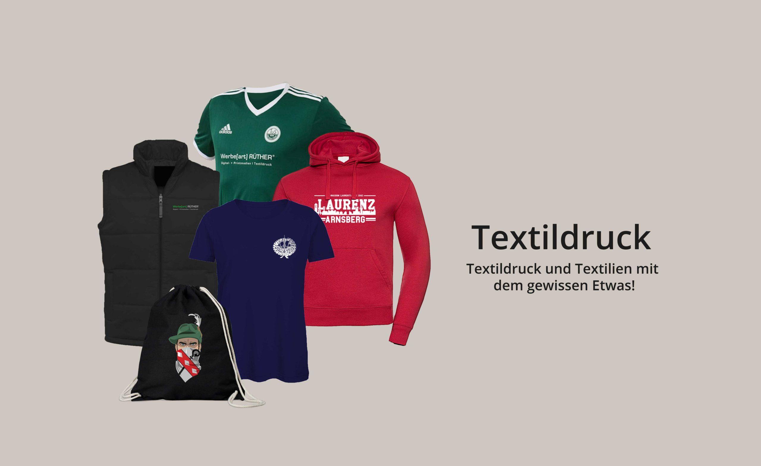 Textildruck - Textildruck und Textilie mit dem gewissen Etwas!