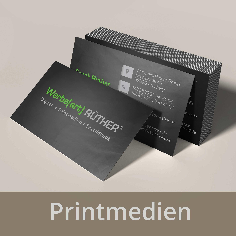 Textildruck, Werbetechnik, Webdesign, Printmedien